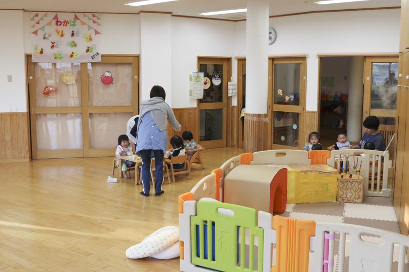 戸田市の保育園 しらおか虹保育園_ルーム