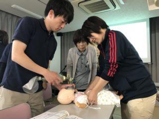 「小児救急」研修が行われました。