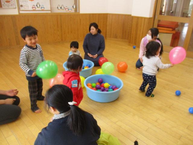 遊び 歳児 風船 2