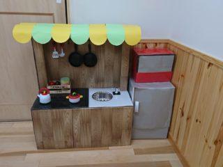 手作りキッチン♪