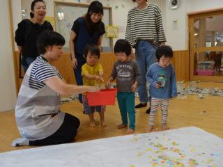 親子教室サンサン(2歳児)がありました!