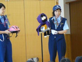 交通安全講習を行いました