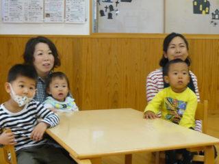 親子教室サンサン(2歳児)コース第1回目