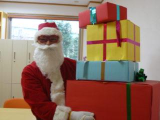 サンタさんが来てくれたよ♪