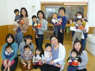 親子教室(ルンルン)0歳児コース最終回