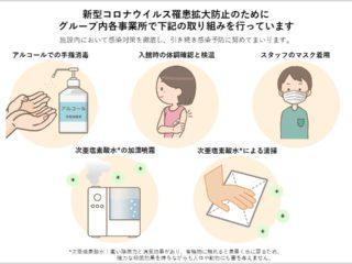 新型コロナウイルス対策の取り組み
