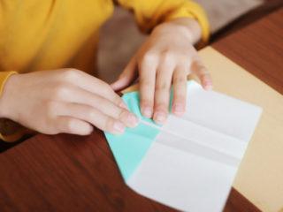 おうち遊び「折り紙」