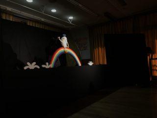 地域開放~人形劇「くりきんとん」