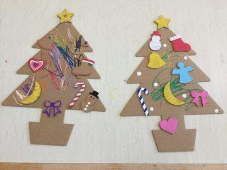 12月15日(火)地域開放~クリスマスツリー制作~