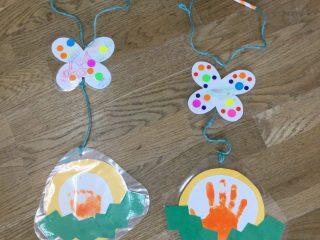4月15日(木)地域開放~手形スタンプでタンポポ飾りを作ろう!~