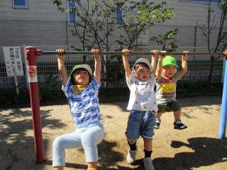 お散歩☆ゆり組(1歳児)