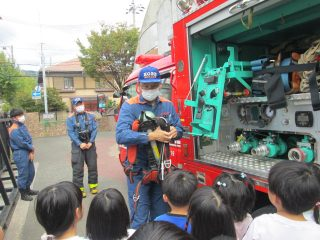 火災の避難訓練を行いました